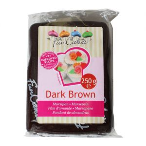 FunCakes MARCIPÁN Dark Brown 250g