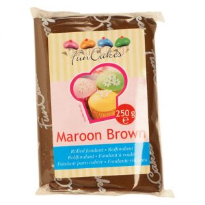 FunCakes  Maroon Brown 250g