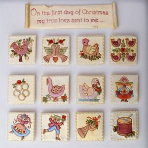 Patchwork-12 DAYS OF CHRISTMAS (12 dní )