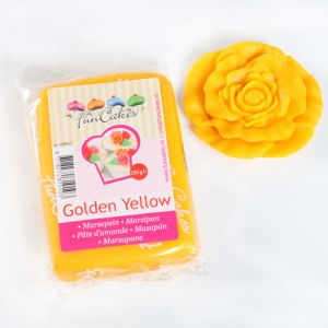 FunCakes MARCIPÁN Golden Yellow  250g